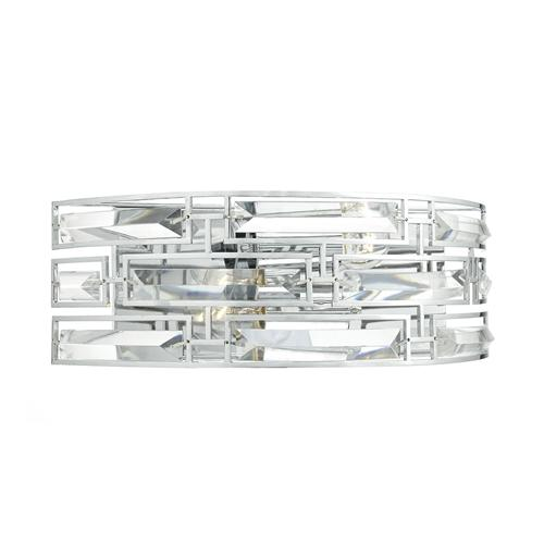 Seville Crystal Double Wall Light Sev0950