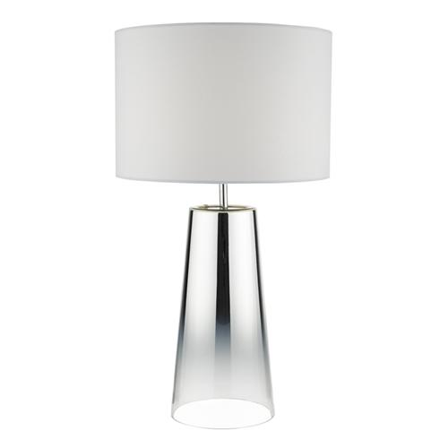 Smokey Mirrored Glass Table Lamp Smo4250