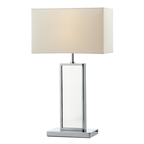 Tablet Polished Chrome Table Lamp Tab4250