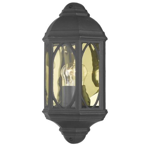 Black Tenby Ip43 Wall Light Ten2122