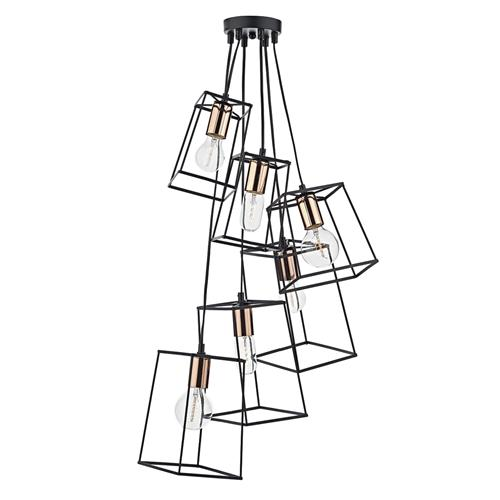 Tower 6 Light Cluster Pendant Tow0622