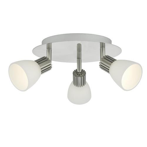 tucker 3 light dimmable led spot light tuc7646 the. Black Bedroom Furniture Sets. Home Design Ideas
