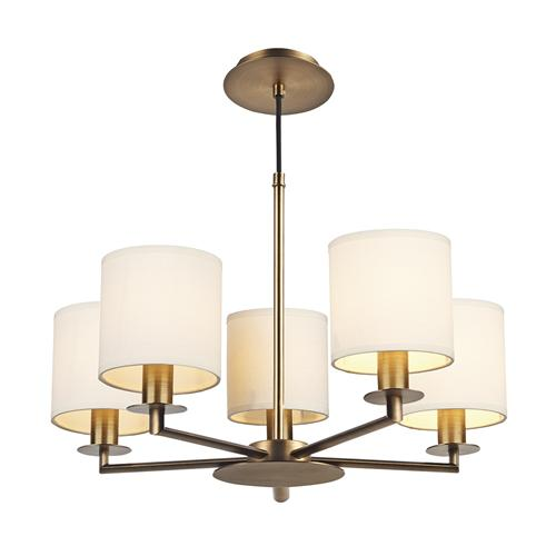 TYL0563 + SO66 Tyler 5 Light Multi-Arm Pendant