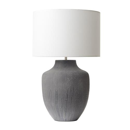 Udine Table Lamp And White Shade Udi4239 + Gif1502