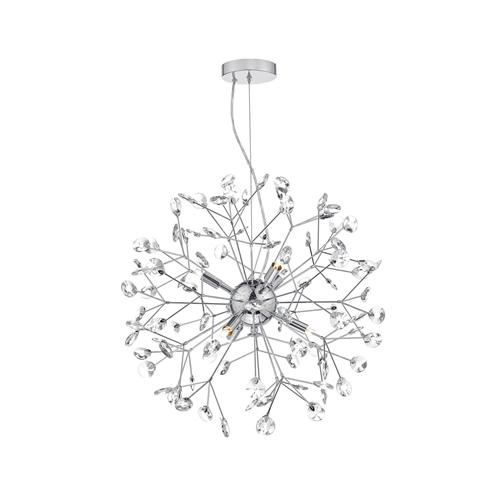 Vivien 6 Light Crystal Ceiling Pendant Viv0650