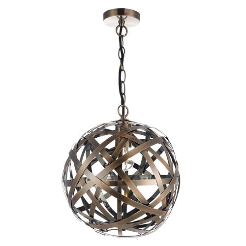 VOY0164 Voyage Single Antique Copper Ball Pendant