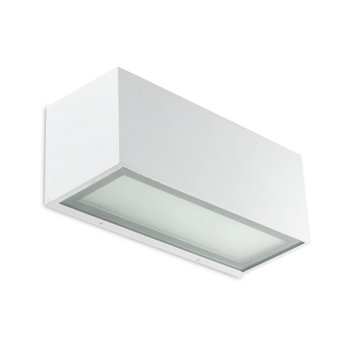 Lia Rectangular White Wall Light 05-4401-14-B8