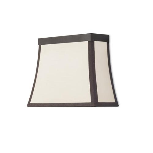 Fancy Brown Wall Light With Fabric Shade 05-5425-Ci-20