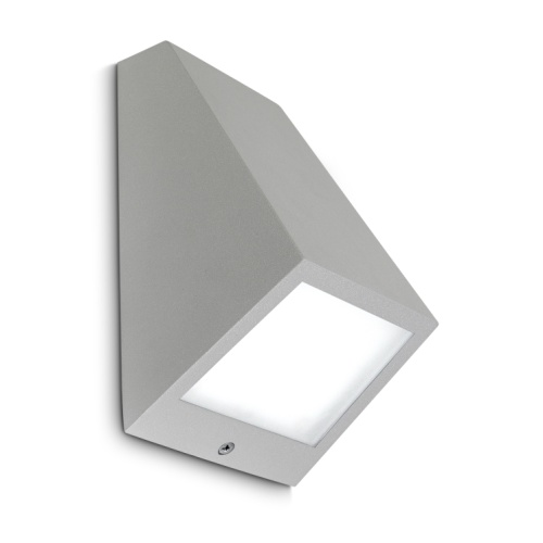 Angle LED Grey Outdoor LED Dedicated Wall Light 05-9837-34-CL