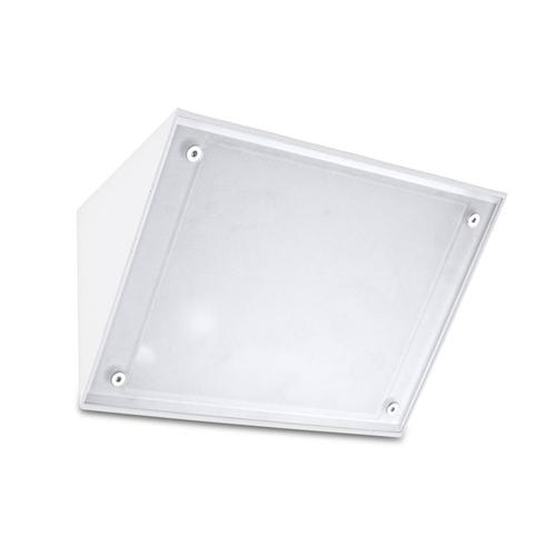 Curie Outdoor Wall Light In White 05-9884-14-G5