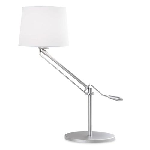 Milan Height Adustable Table Lamp With Shade 10-1568-81-82+PAN-157-14