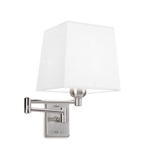 Dover Adjustable Wall Light With Shade 170-Ns+Pan-179-14
