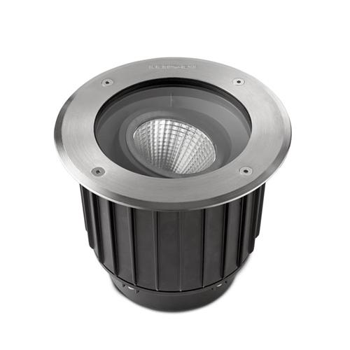Large Gea Outdoor LED Recessed Light 55-9909-Ca-Cl