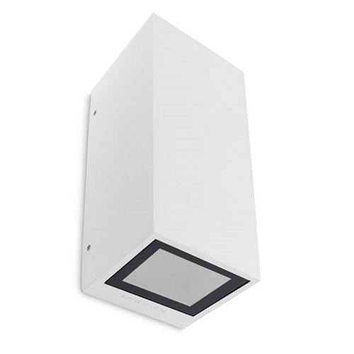 Afrodita Outdoor White Double Wall Light 05-9919-14-37 The Lighting Superstore