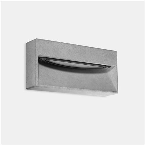Arc LED Surface/Recessed IP65 Rated Outdoor Wall Light 05-E090-DC-CL