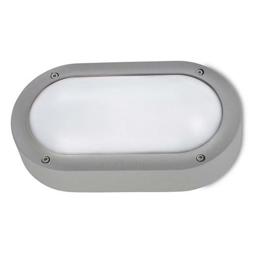 Basic LED Dedicated Grey Outdoor Wall Light 05-9886-34-CL