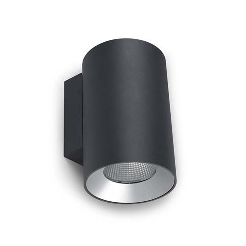 Double Wall Light External : Cosmos Exterior LED Dedicated Double Wall Light 05-9957-Z5-Cl The Lighting Superstore