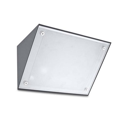 Curie Exterior LED Dedicated Urban Grey Wall Light 05-9884-Z5-Cm
