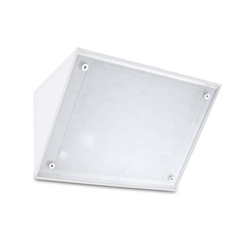 Curie LED dedicated White Outdoor Wall Light 05-9884-14-CL