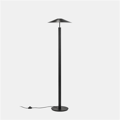 H-LED Black Finished Floor Lamp 25-7742-05-05