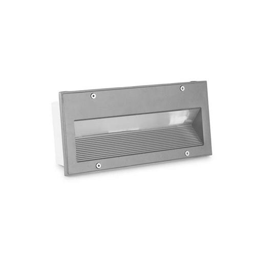 Micenas LED Recessed Grey Brick Light 05-9832-34-Cl  sc 1 st  The Lighting Superstore & Micenas LED Recessed Brick Light | The Lighting Superstore