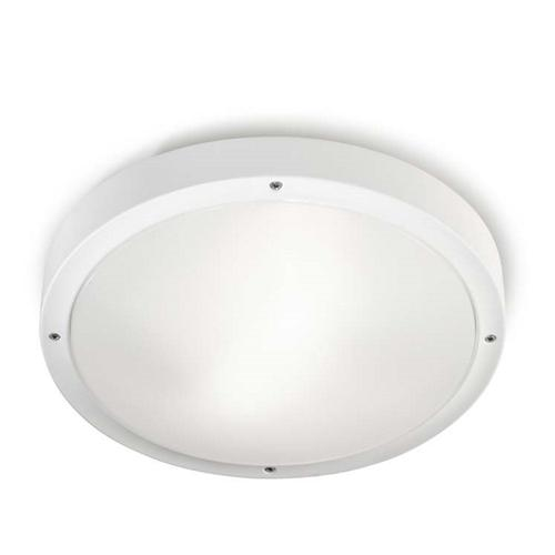 Opal White Outdoor Wall/Ceiling LED Dedicated Light 15-9677-14-Cm