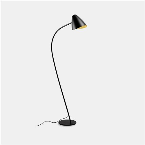Organic Black And Gold Floor Lamp 25-7582-05-05