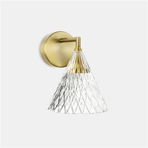 Veneto Gold Coloured LED Wall Light 05-7588-DO-DO