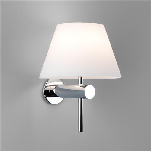 Bathroom wall lights the lighting superstore roma modern ip44 rated bathroom wall light aloadofball Choice Image