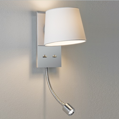 Sala LED Polished Nickel Wall Light 1114002 (0537)