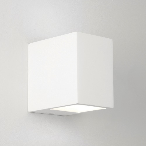 Mosto White Plaster Wall Light 0813