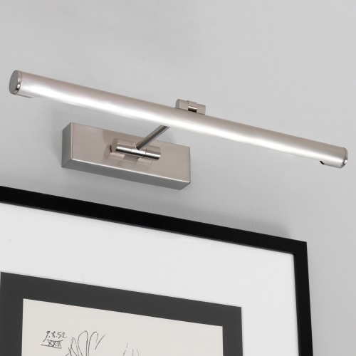 Goya LED 460 Brushed Nickel Modern Picture Light 1115007 (0873)