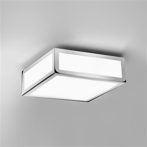 square bathroom lights mashiko 200 square bathroom light the lighting superstore 14537 | 0890 mashiko 200 bathroom ceiling light 1190
