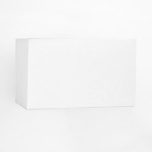 Rectangular Lamp Shades For Wall Lights : White Rectangular Lamp Shade 1216 The Lighting Superstore