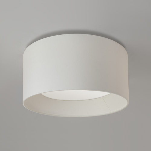 Bevel Round White 450 Semi Flush Light 1296001+5021003 (7056+4098)