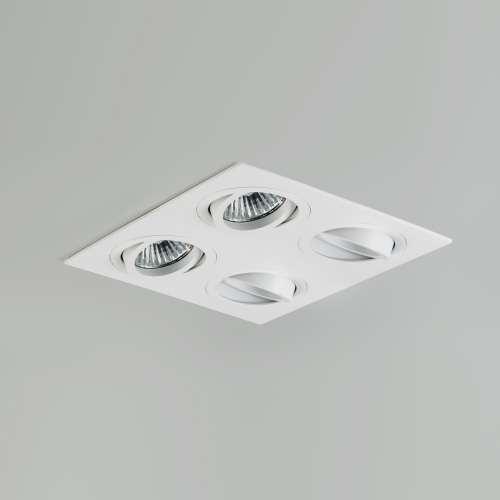 Taro quad recessed spotlights the lighting superstore taro quad adjustable downlights 5663 mozeypictures Gallery