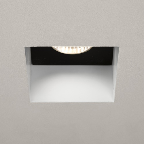 Trimless White Recessed Square Spotlight 1248005 (5670)