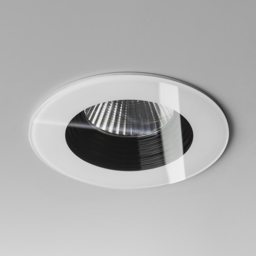 Vetro LED Fire Rated White Bathroom Downlight 5733