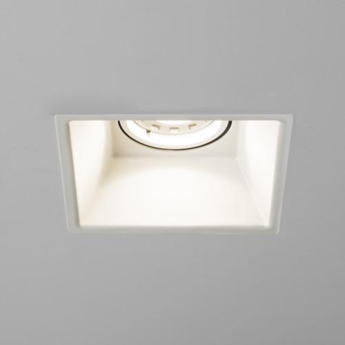 Minima Square Fire Rated Fixed Recessed Spotlight 5742
