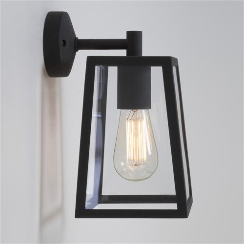 Calvi outdoor wall light black 7105