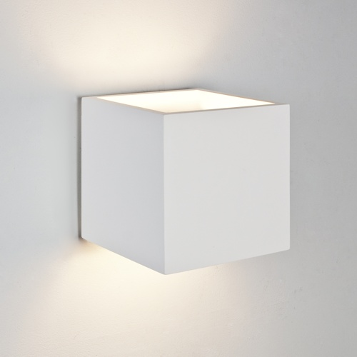 Pienza 165 White Wall Light 1196003 (7153)
