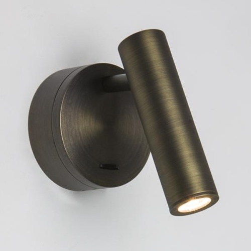 Enna Bronze Surface Mounted LED Wall Light 7356