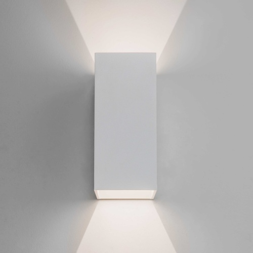7494 Oslo 160 Outdoor White Wall Light