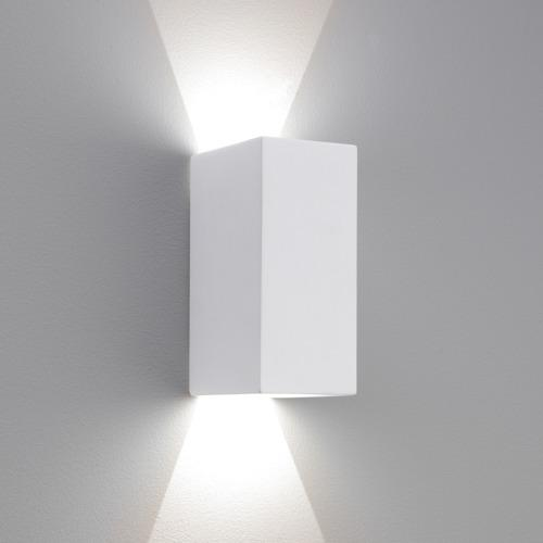 Parma LED 160 White Wall Light 7598