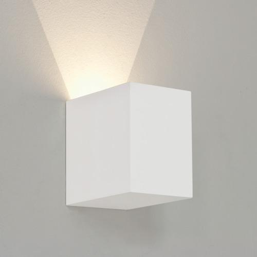 All Square Wall Lights : Parma 100 Square LED Wall Light 7606 The Lighting Superstore