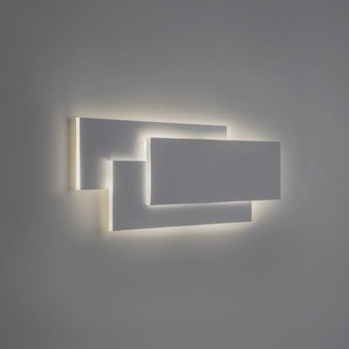 Edge White 560D LED Wall Light 7805