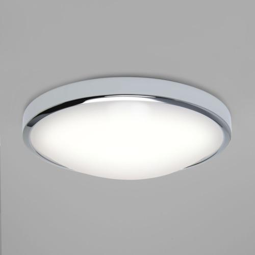 overhead bathroom lighting. osaka polished chrome led bathroom ceiling light 7831 overhead lighting