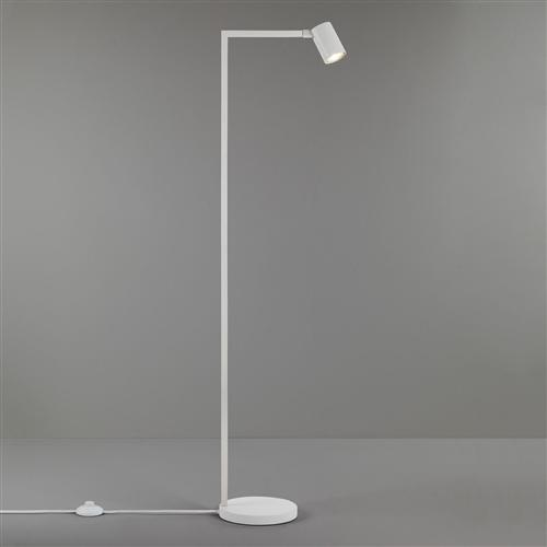 Ascoli LED Matt White Adjustable Floor Lamp 1286018 (4582)