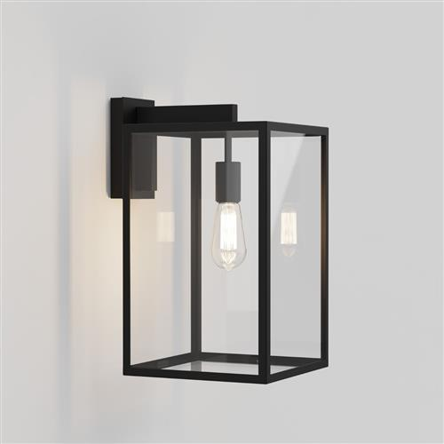 Box 450 LED Textured Black Interior Porch Wall Light 1354007 (8504)