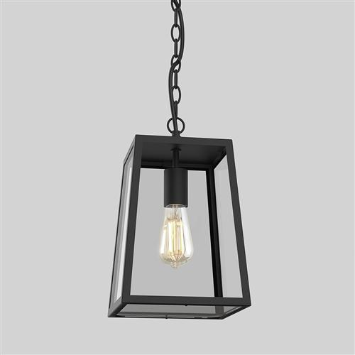 Calvi IP23 305 LED Textured Black Porch Lantern 1306013 (8314)